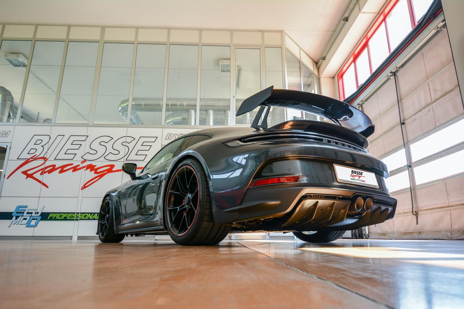 World Première: Porsche 911 992 GT3 Stage1+ full Tubi Style exhaust