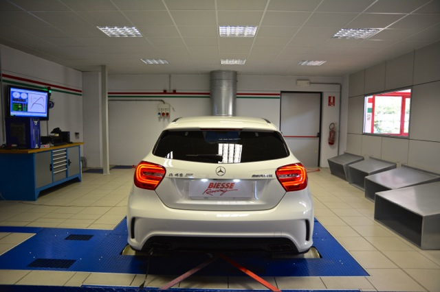 Biesse Racing A45AMG_REAR